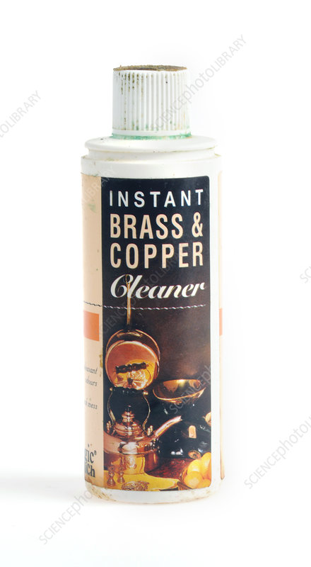Brass and copper cleaner