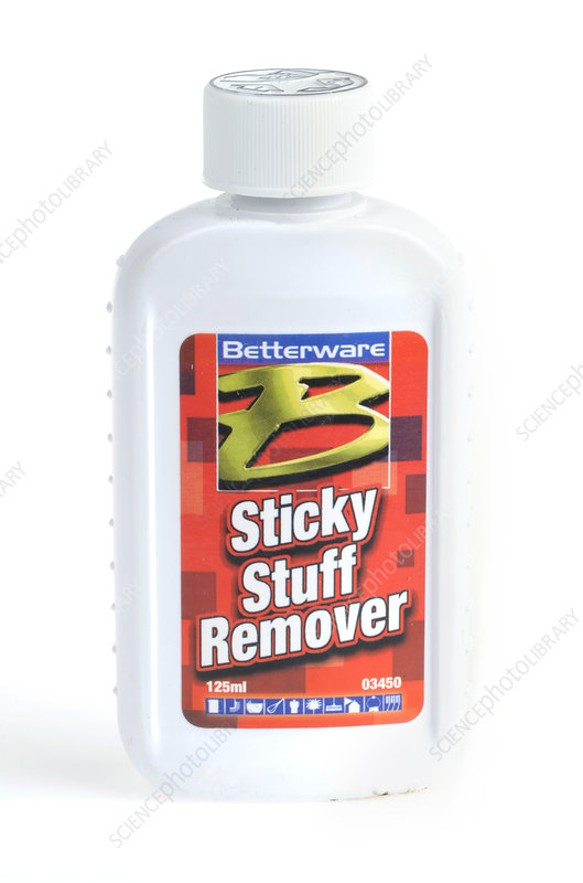 Sticky residue remover