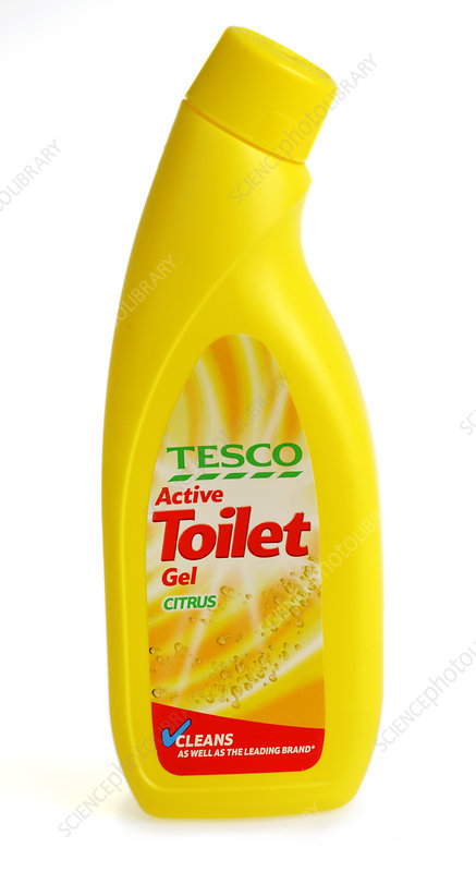 Gel toilet cleaner