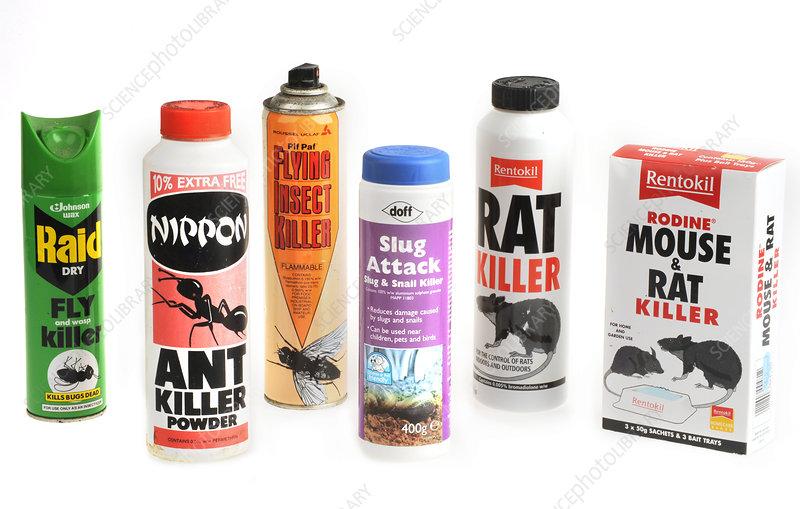 Domestic pesticides