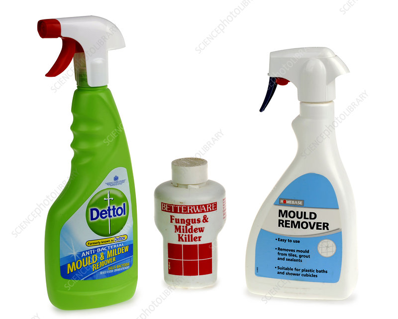 Mould and mildew removers