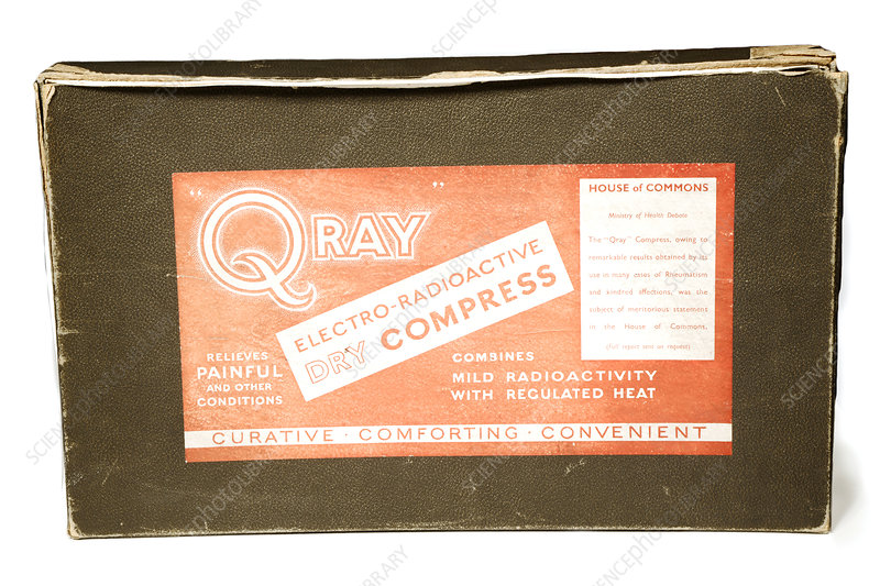 Radium compress