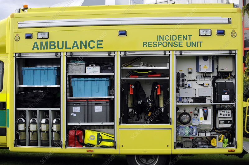 Ambulance incident response unit