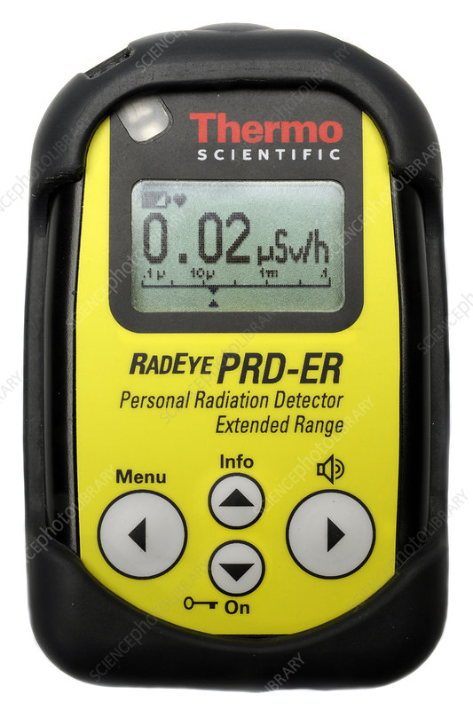 Personal radiation detector