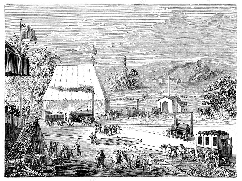 Rainhill locomotive trials, October 1829