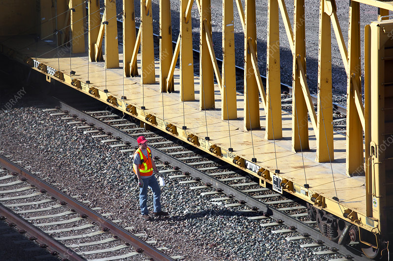 Railway worker, USA