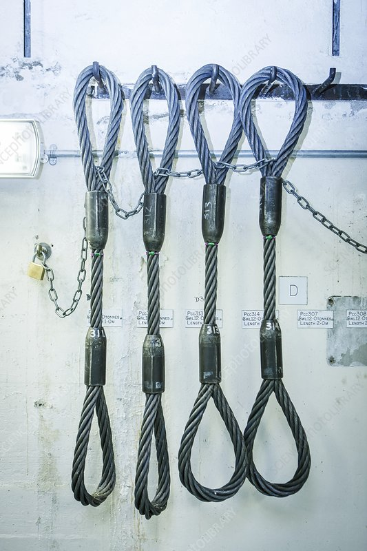 Stainless steel ropes