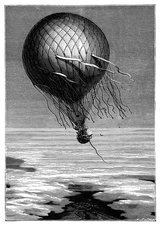 Siege of Paris balloon flight, 1870