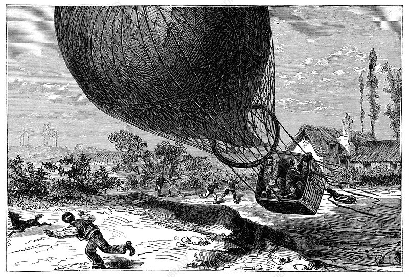 'Zenith' balloon crash, 1875