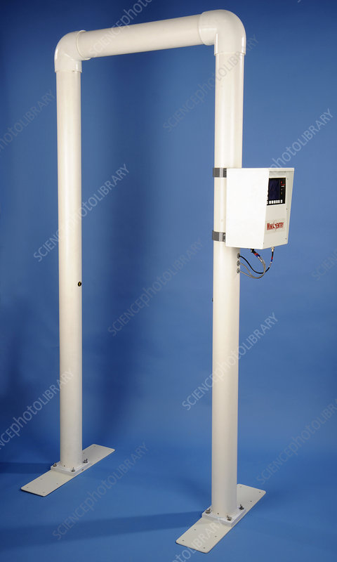 Portal radiation monitor