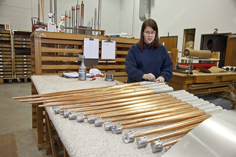 Pipe organ factory