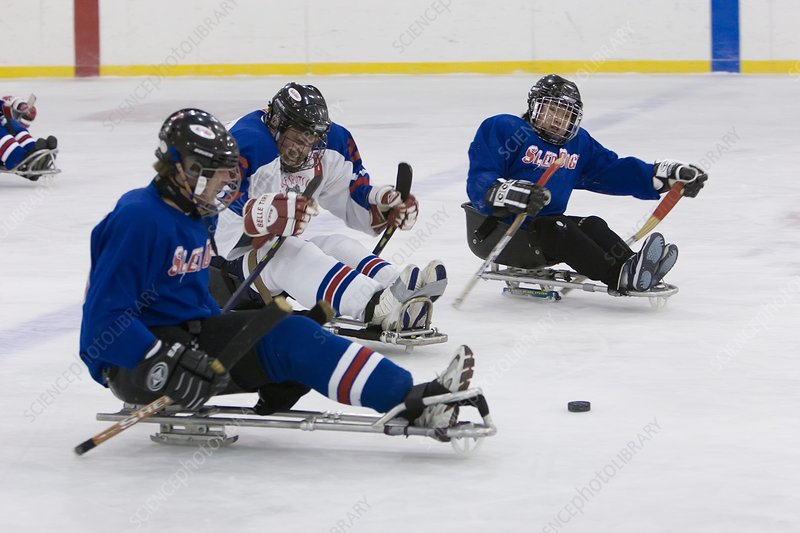 Disabled ice hockey