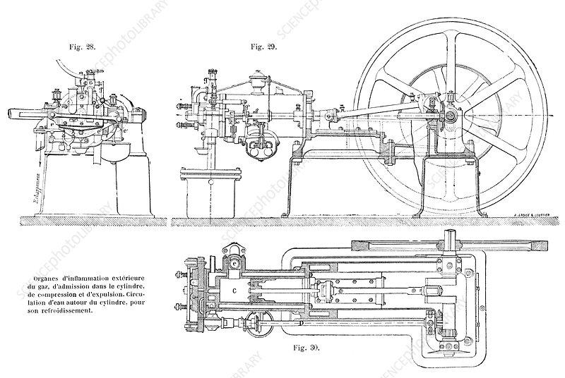 otto gas engine  illustration  4880