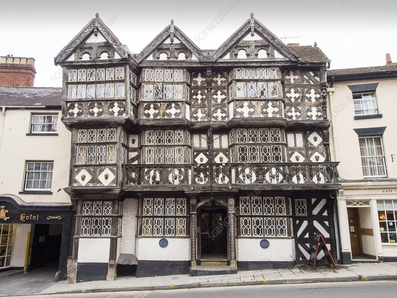 The Feathers Hotel in Ludlow