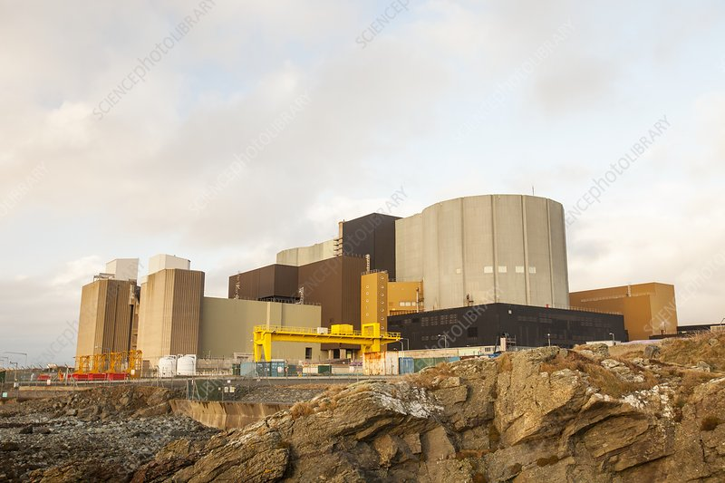 Wylfa nuclear power station, Anglesey, UK