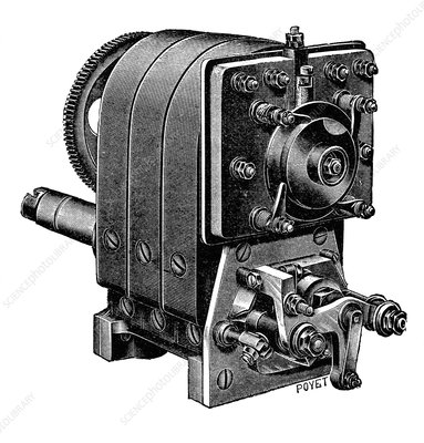 Ignition magneto, illustration