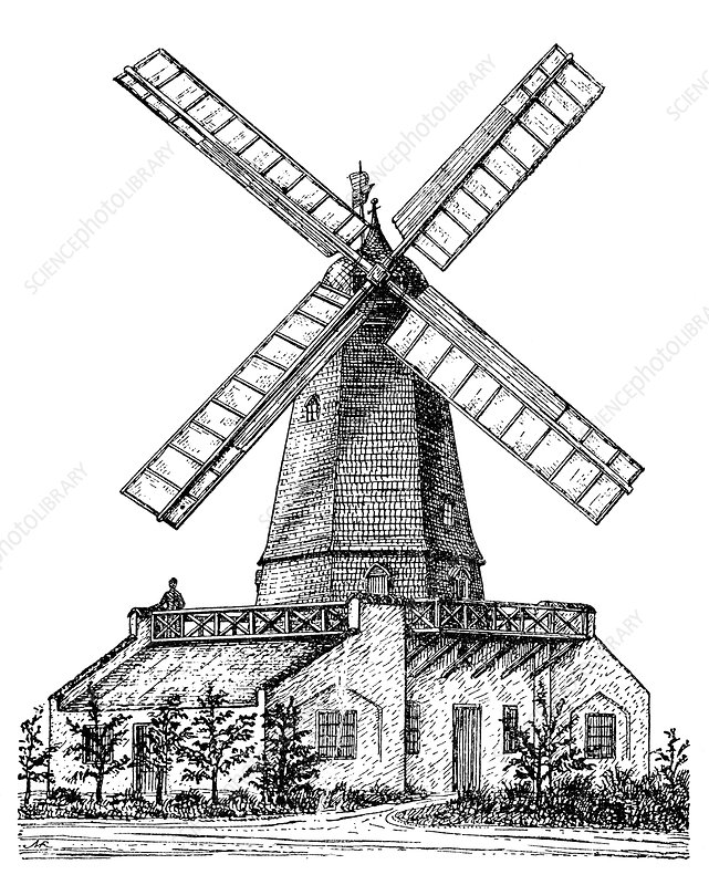 Windmill, 19th century
