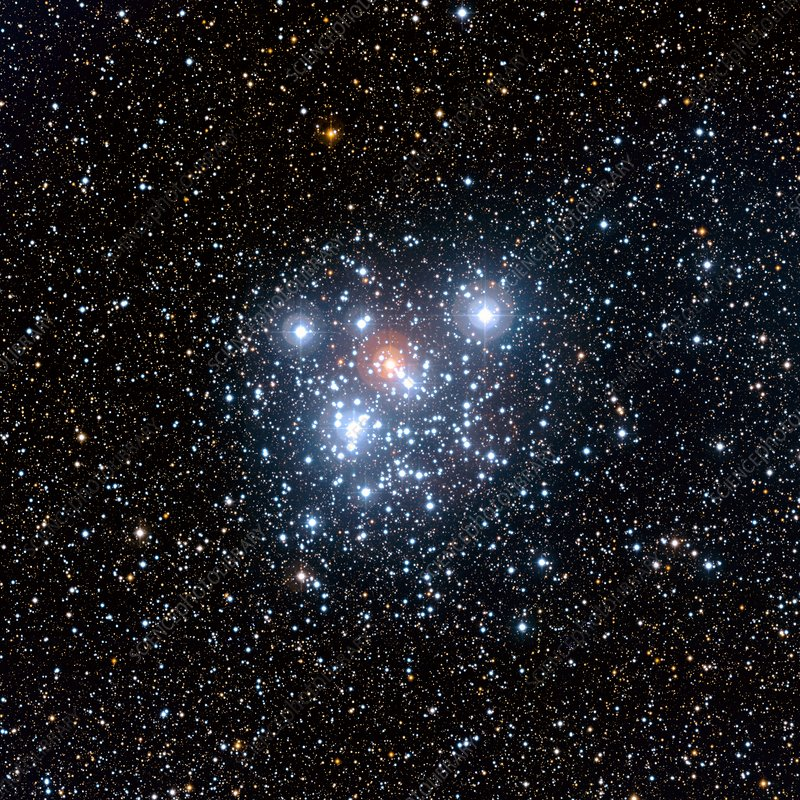 Jewel Box star cluster, optical-IR image