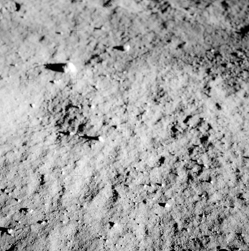 Apollo 11 lunar surface, 1969