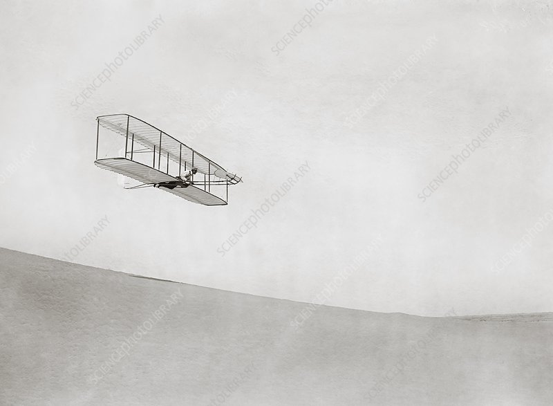 Wright brothers Kitty Hawk glider, 1902