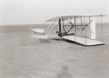Failed first Wright Flyer flight, 1903