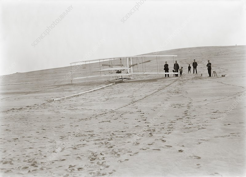 First Wright Flyer launch, 1903
