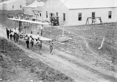 College Park airfield, 1911