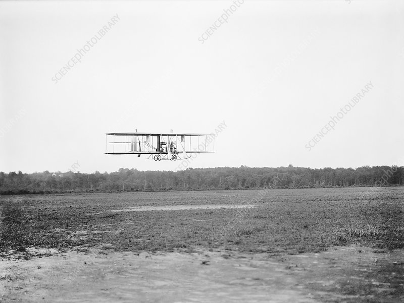 Wright Model B airplane, 1912