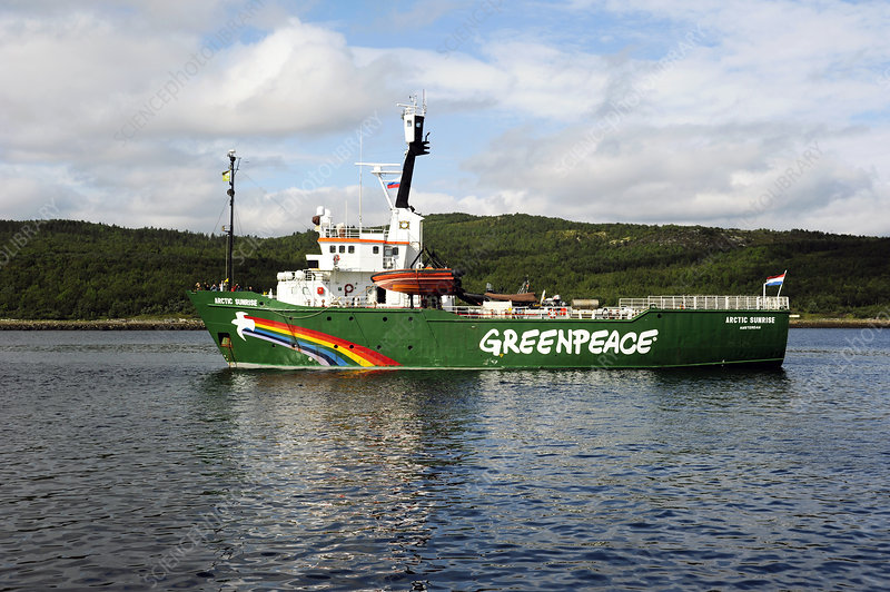 Arctic Sunrise Greenpeace ship