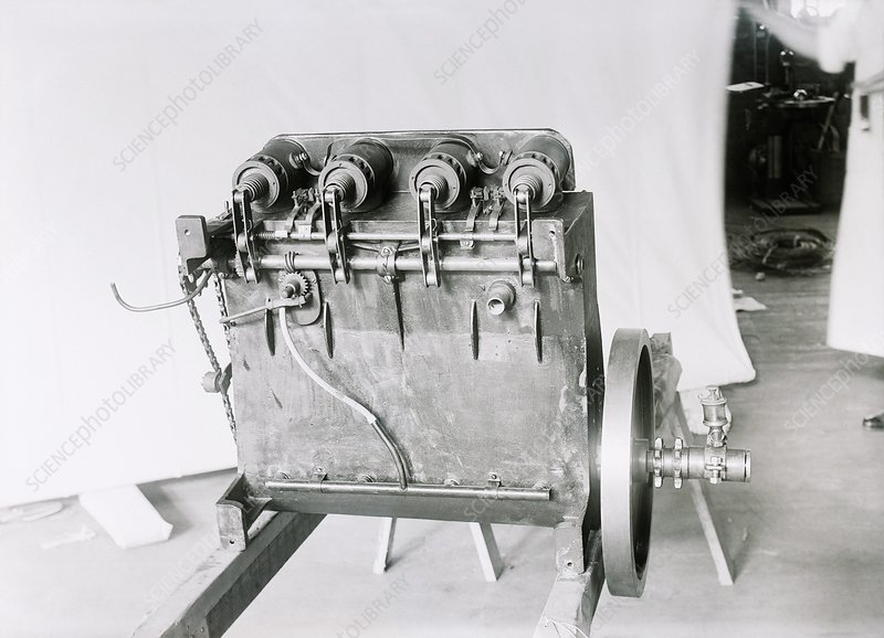 Wright Flyer aircraft engine, 1903