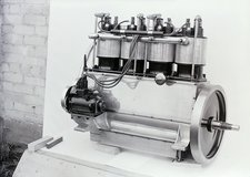 Wright Vertical 4 aircraft engine, 1911
