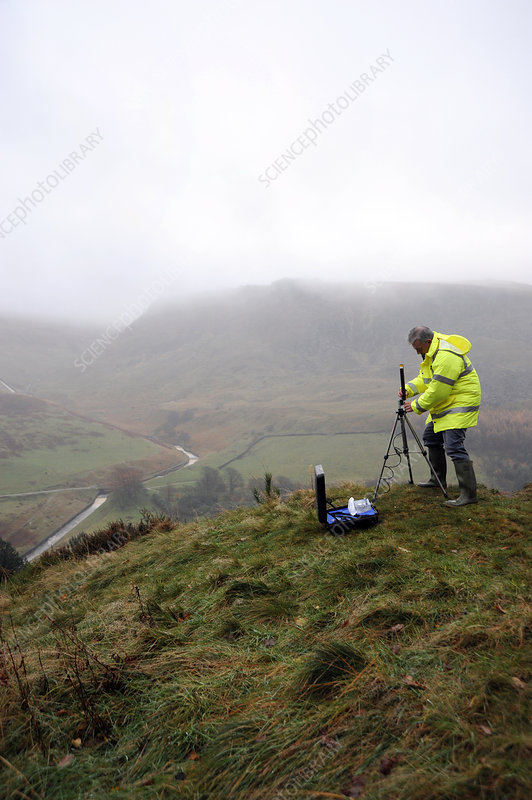 Environmental radiation monitoring