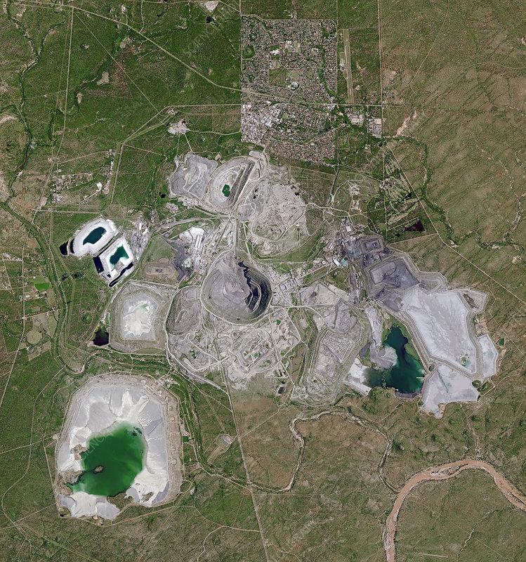 Palabora mine, South Africa