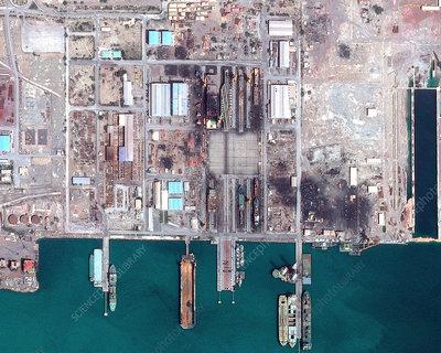 Iran's fake aircraft carrier