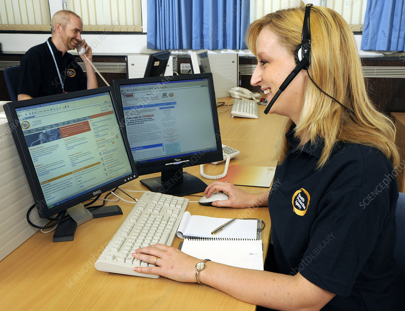 Public health call centre