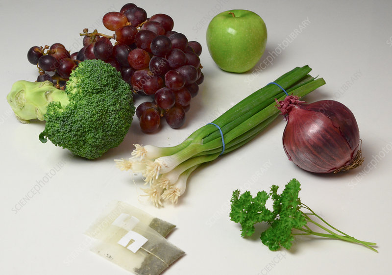 Foods Rich in Quercetin