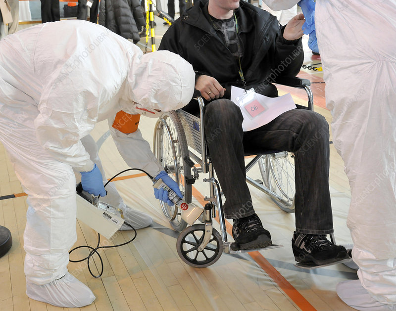 Radiation emergency response training