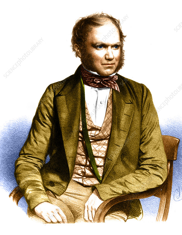 Charles Robert Darwin, English Naturalist