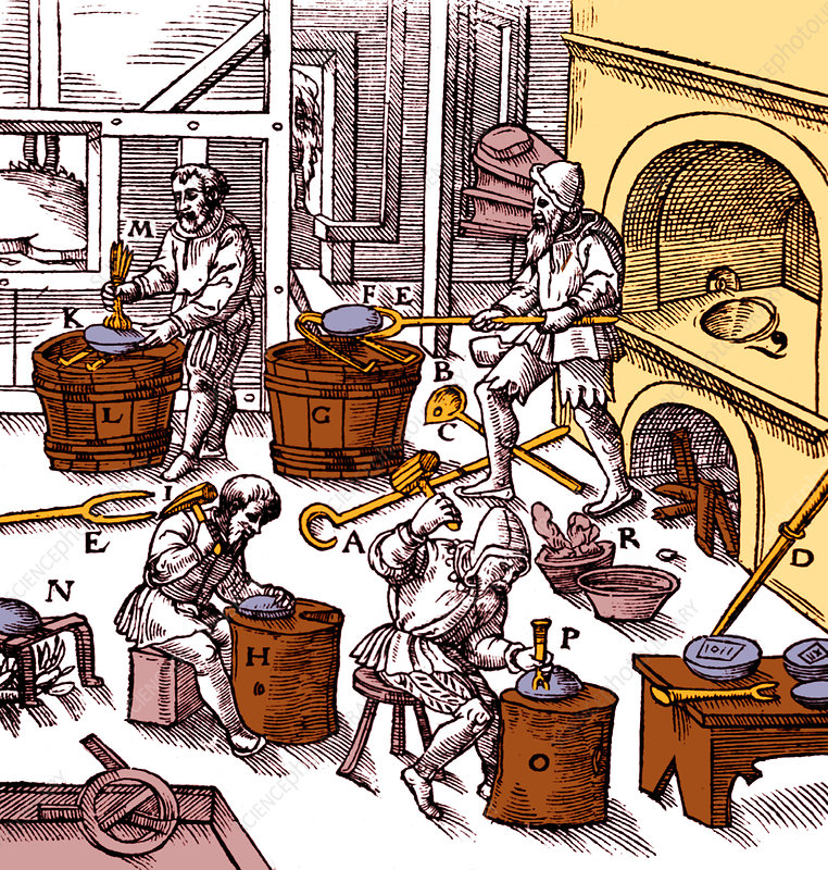 Metallurgy Workshop, 16th Century