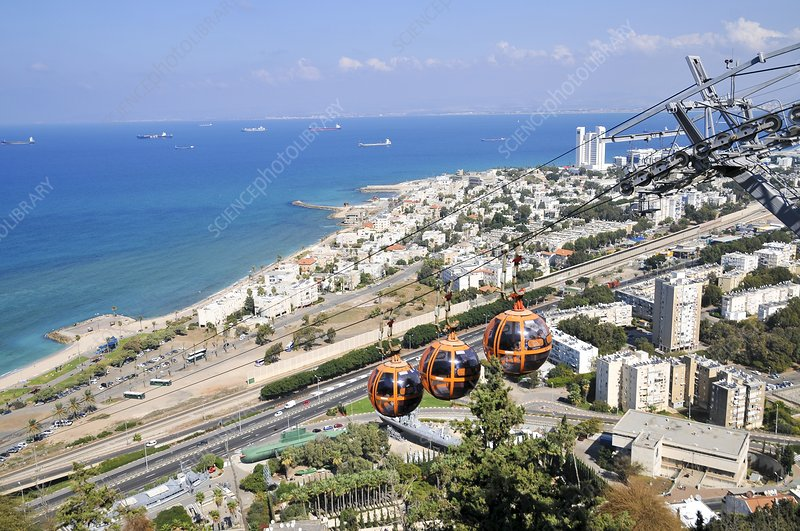 Haifa, Stella Maris cable car station