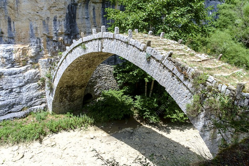 stone bridge Zagori Greece