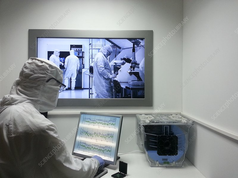 semiconductor manufacturing clean room