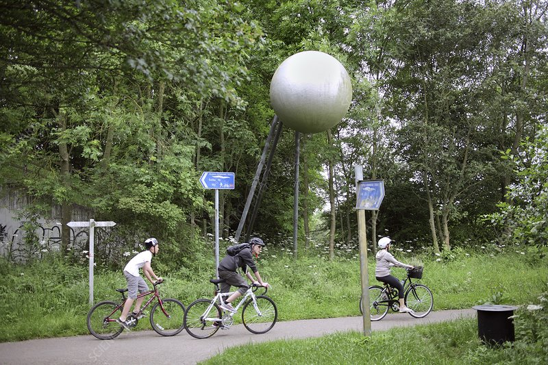 Solar system themed cycle route, UK