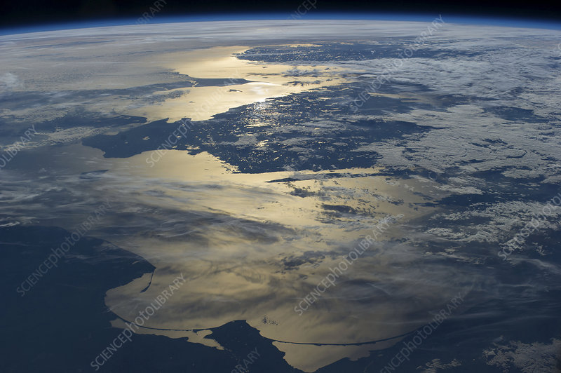 Baltic Sea, astronaut photograph