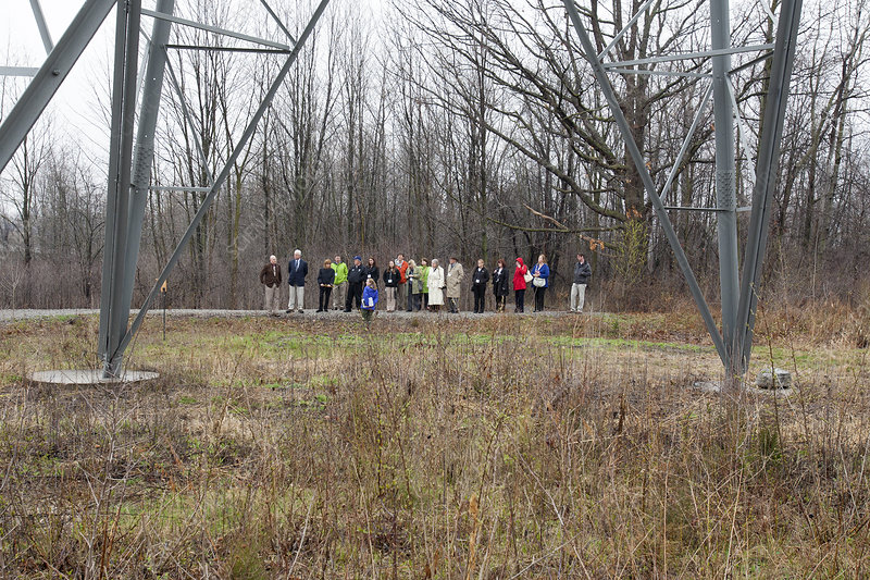 Wildlife habitat tour of corporate land