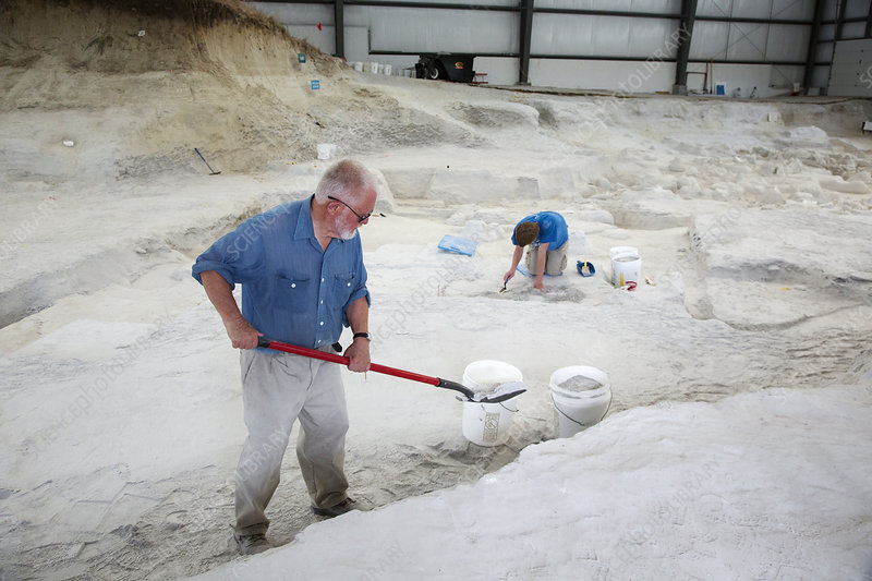 Ashfall Fossil Beds excavation