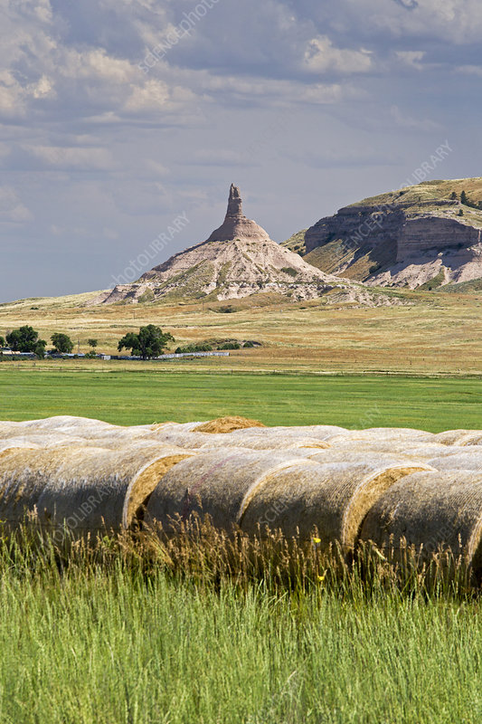 Chimney Rock, Nebraska, USA