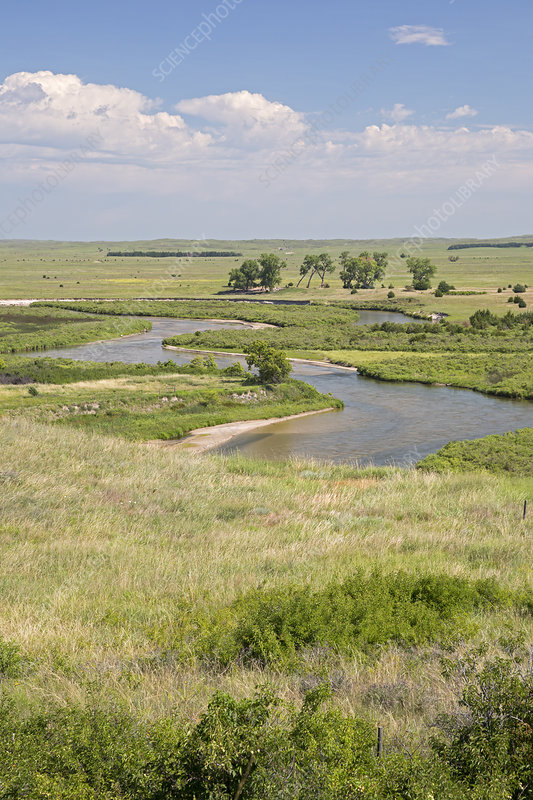 River in the Nebraska Sandhills