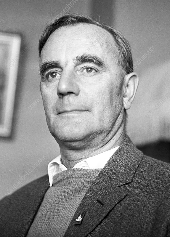 Cecil Powell, British physicist