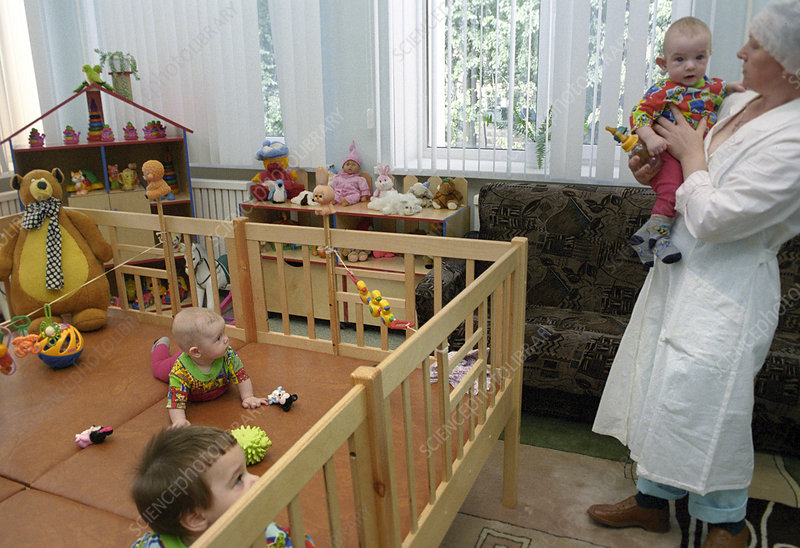 Care centre for children with HIV, Russia